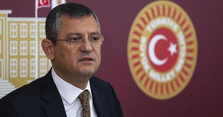 CHP'li Özel'e suç duyurusu