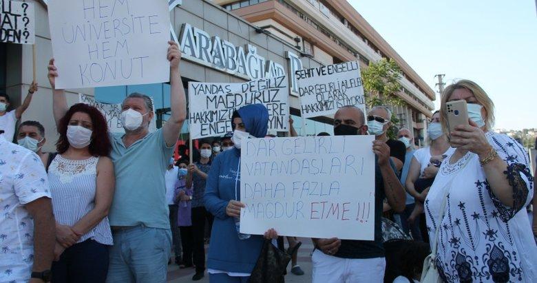 CHP'li Selvitopu TOKİ konutlarının planlarını iptal ettirdi, hak sahipleri isyan etti