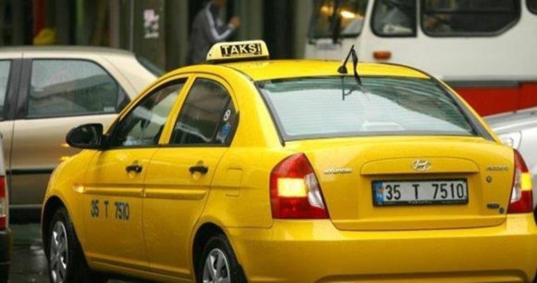 Takside tablet kavgası