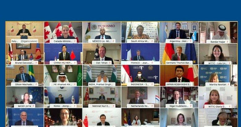 G20 Turizm Bakanları, turizmin geleceği için 7 ilke belirledi