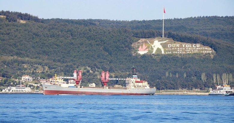 Çanakkale Boğazı'ndan Rus gemisi geçti