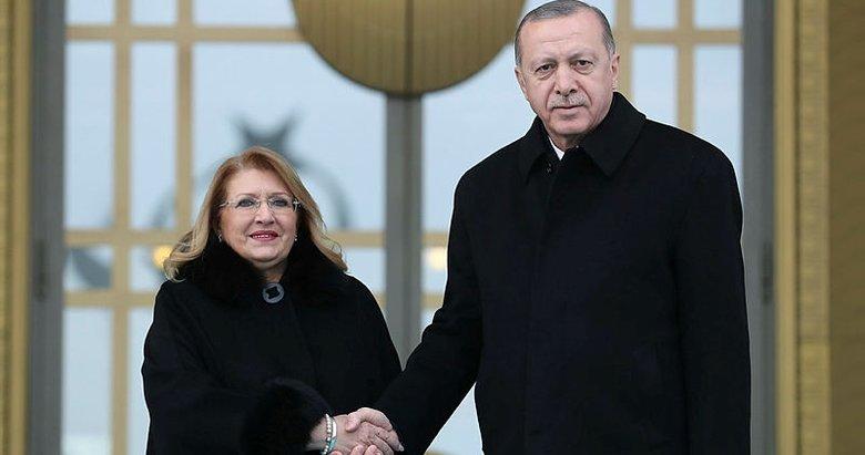 Malta Cumhurbaşkanı Preca Ankara'da! Başkan Erdoğan Külliye'de resmi törenle karşıladı