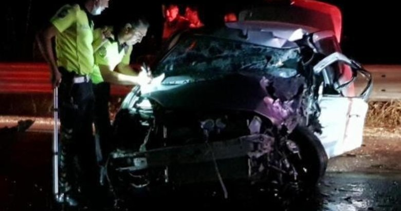 Aydın'da 'hatalı sollama' kazası: 1 ölü, 1 yaralı
