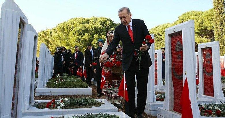 Başkan Erdoğan'dan 18 Mart mesajı