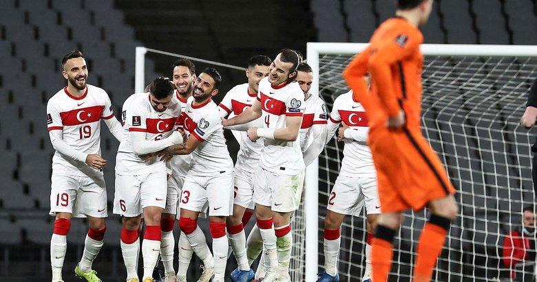 Türkiye 4 - Hollanda 2 MAÇ SONUCU