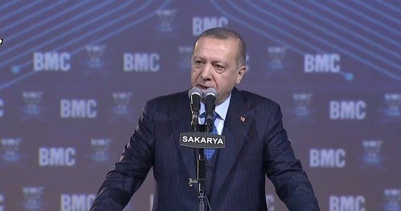 Başkan Erdoğan'dan Sakarya'da kritik açılış