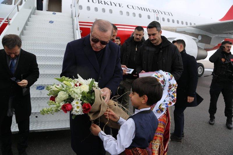Başkan Erdoğan Sivas'ta
