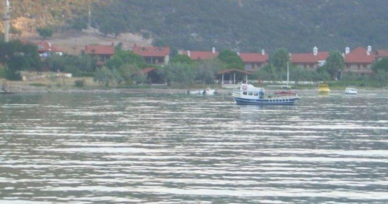 Balık avlamak için denize giren emekli kaptandan kötü haber geldi