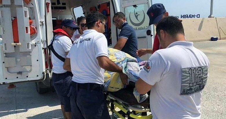 Sahil Güvenlikten İzmir ve Aydında tıbbi tahliye