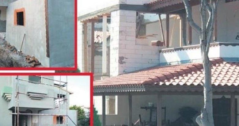 CHP'li Aykut Erdoğdu'nun İzmir'de kaçak villa ayıbı