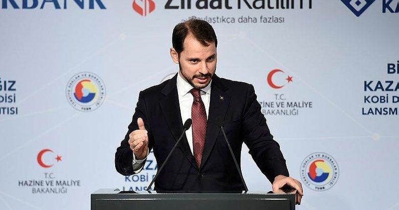 Bakan Albayrak KOBİ'lere destek paketini açıkladı