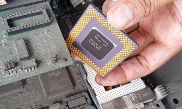 Eski bilgisayar parçalarından altın çıkardı! Bilgisayar parçalarından çıkanlar şaşırttı