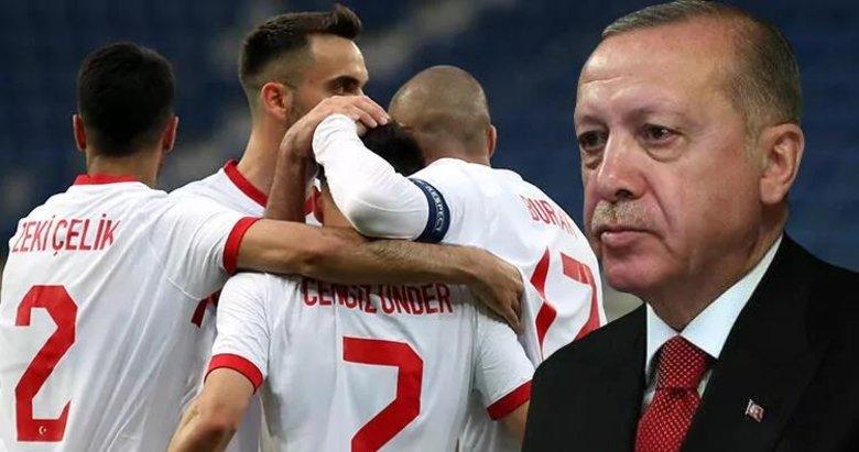 Başkan Erdoğan'dan Euro 2020 mesajı: Milli Takım'a 'Evlatlarım' diyerek seslendi: Yanınızdayım...
