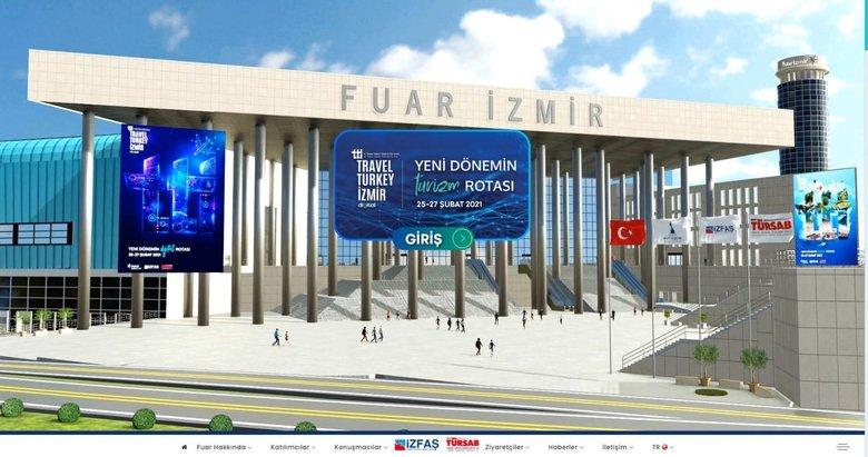 Türkiye'nin ilk sanal turizm fuarı İzmir'de kapılarını açtı