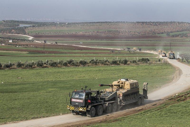 İdlib'deki gözlem noktalarına 150 araçlık sevkiyat
