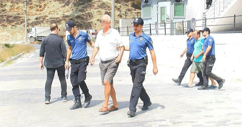 Marmara Adası'ndaki orman yangınında gözaltına alınan baba- oğul adliyede