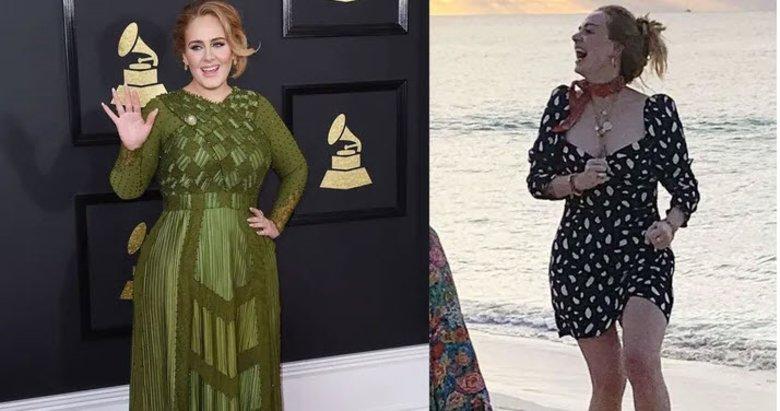 Adele'in halini görenler şaştı kaldı! Nasıl kilo verdiği ortaya çıktı