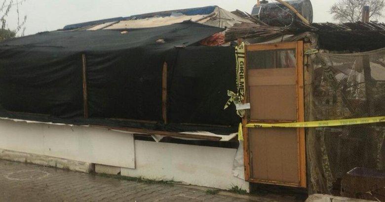 İzmir'de barakada sır cinayet
