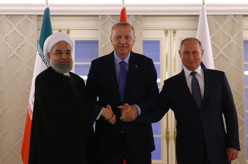 Başkan Erdoğan'dan Putin ve Ruhani'ye incir ikramı