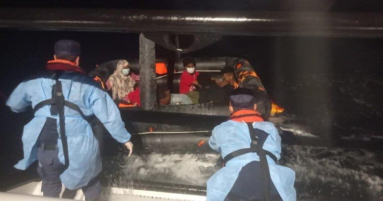 İzmir açıklarında 172 düzensiz göçmen kurtarıldı