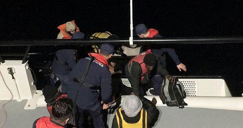 Muğla Bodrum'da 6 göçmen yakalandı
