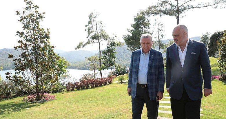 Başkan Erdoğan, Arnavutluk Başbakanı Edi Rama ile görüştü