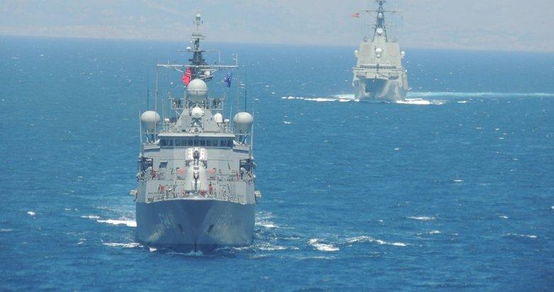 MSB: Kuzey Ege'de deniz eğitimleri icra edildi