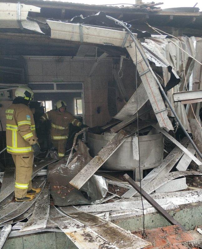 Balıkesir'de peynir fabrikasında patlama