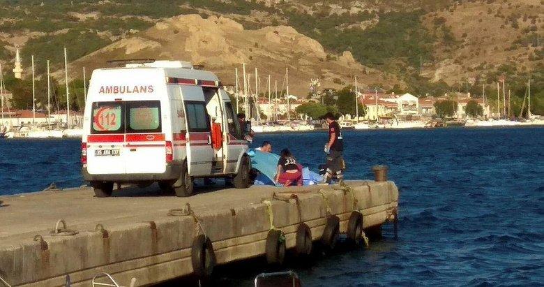 Foça'da tekne faciası! Ölü ve yaralılar var...