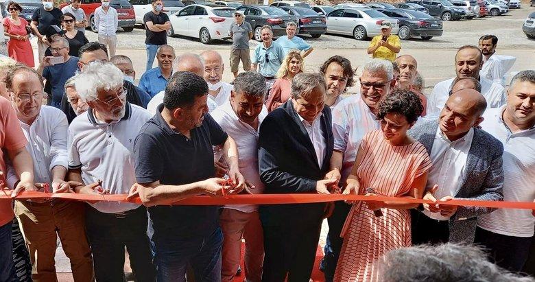 CHP'den Ayvacık Asos'taki kaçak restoranının açılışına yoğun ilgi! Bakın sahibi kim çıktı?