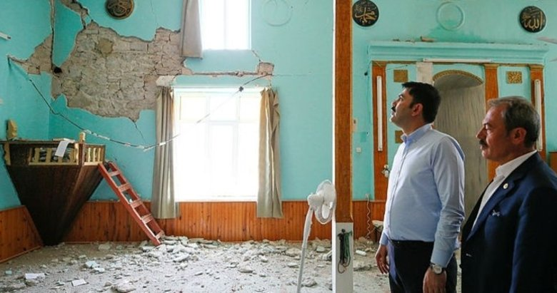 Çevre ve Şehircilik Bakanı Murat Kurum'dan Denizli'deki depremle ilgili flaş açıklamalar