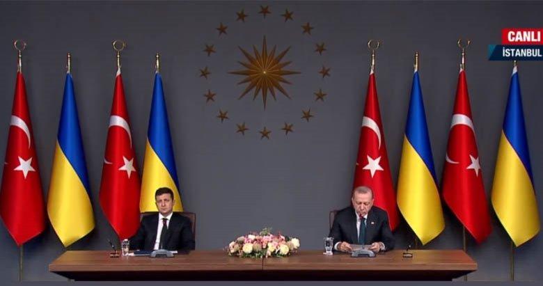 Son dakika: Başkan Erdoğan ve Ukrayna Devlet Başkanı Vladimir Zelenskiy'den önemli açıklamalar