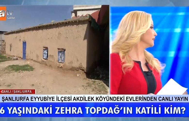 Müge Anlı canlı yayınında Zehra Topdağ cinayeti ile ilgili şok eden detaylar!