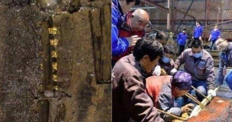 Mezarın içinden çıkanlar görenleri şok etti!