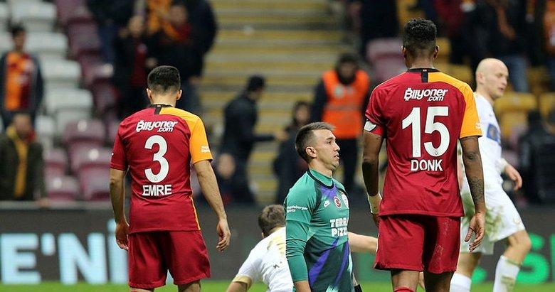 Galatasaray uzatmada çelme yedi