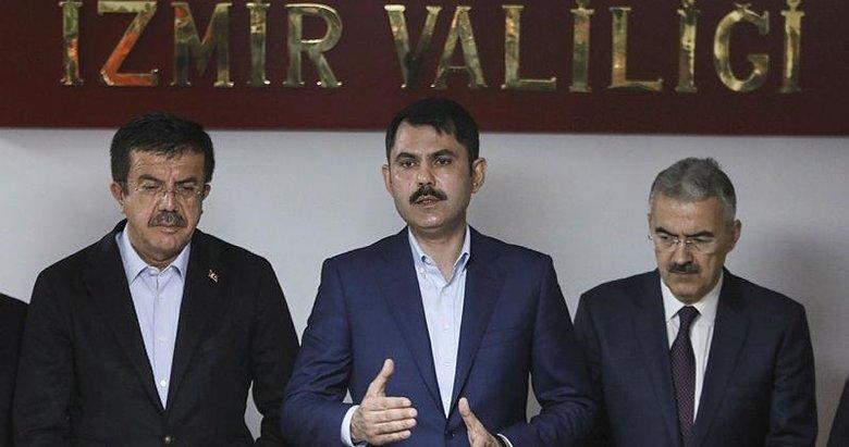 Bakan Kurum: İzmir Körfezi'ne atık su bırakmayacağız