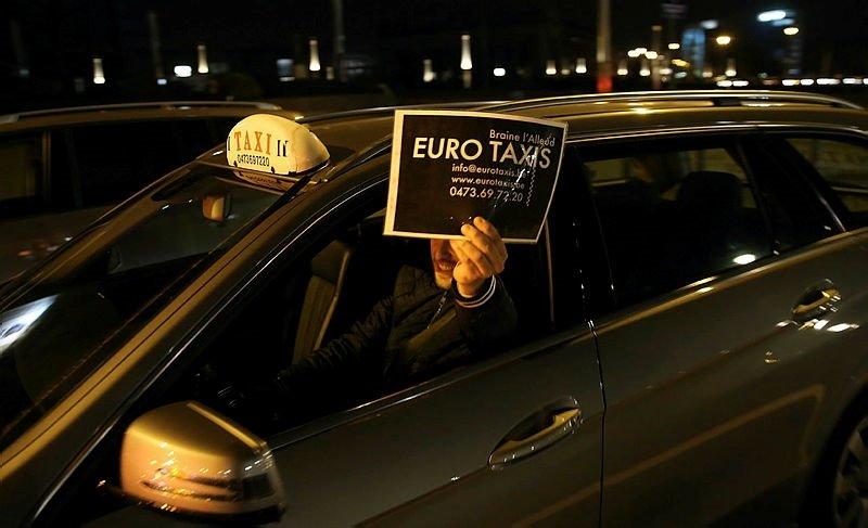 Uber protestoları artıyor