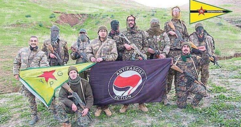 ANTİFA terör eğitimini YPG/PKK'dan aldı - Gündem Haberleri