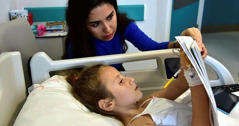 Trafik kazasında ayağını kaybeden küçük Aylin'den haber var!