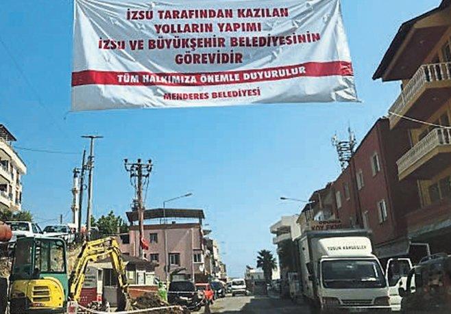 'Gerekirse bütün İzmir'i pankartla döşerim'