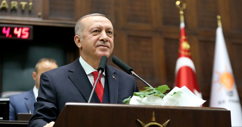 Başkan Erdoğan, partisinin TBMM Grup Toplantısı'nda önemli açıklamalarda bulunuyor