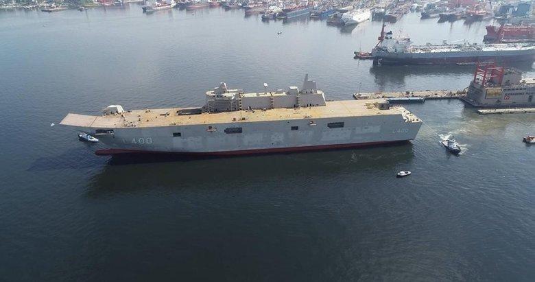 Türkiye'nin en büyük savaş gemisi 2020'de hizmete girecek
