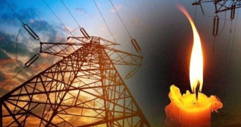 İzmir'de elektrik kesintisi 14 Ocak Perşembe