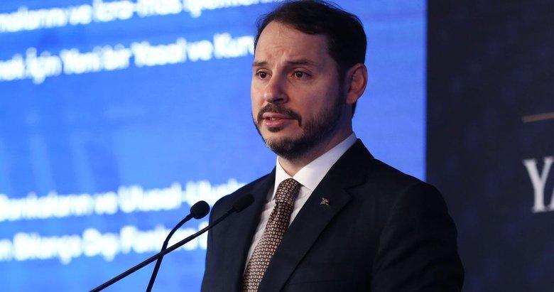 Hazine ve Maliye Bakanı Berat Albayrak'tan İstikrar Kalkanı açıklaması