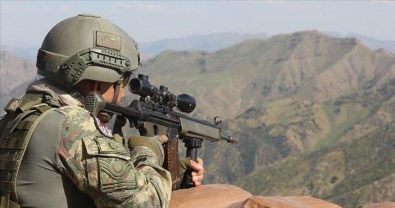 Hakkari Dağlıca'da üs bölgesine saldıran 2 terörist etkisiz hale getirildi