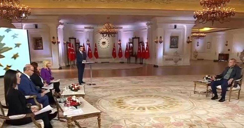 Son dakika: Başkan Erdoğan'dan A Haber ve ATV ortak yayınında önemli açıklamalar