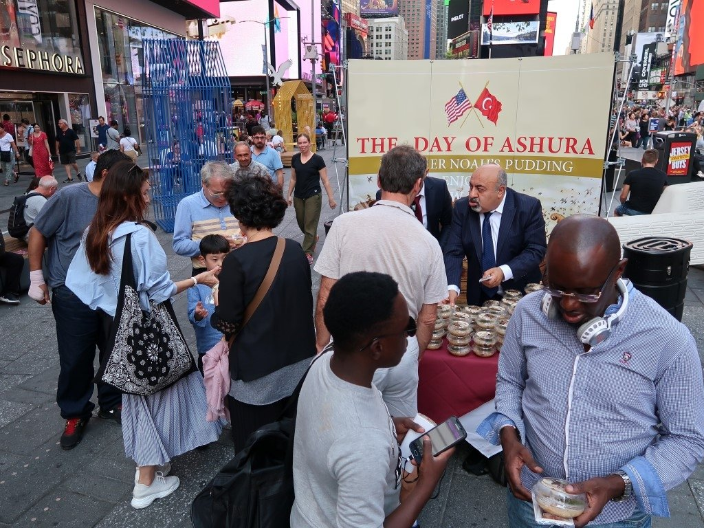 New York Times Meydanı'nda led ekranlı araçlarla Türkiye tanıtımı