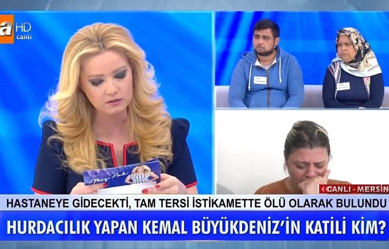 Müge Anlı canlı yayınında kan donduran cinayet itirafı! Kemal Büyükdeniz'in katili kim?