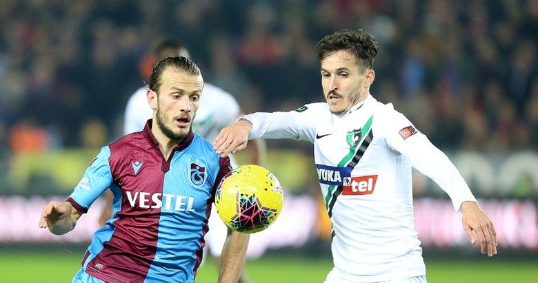 Denizlispor kupada Trabzonspor'a konuk olacak