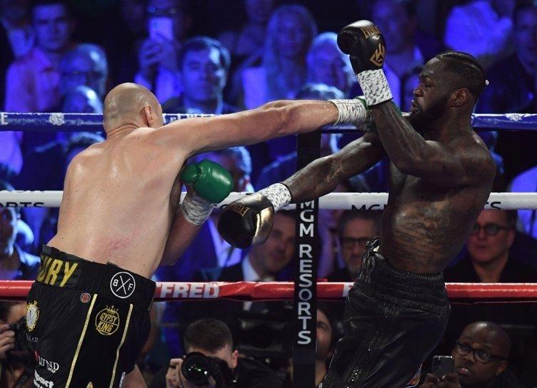 Tyson Fury Deontay Wilder'dan kemeri aldı! Yeni WBC Dünya Ağır Siklet Boks Şampiyonu Tyson Furry